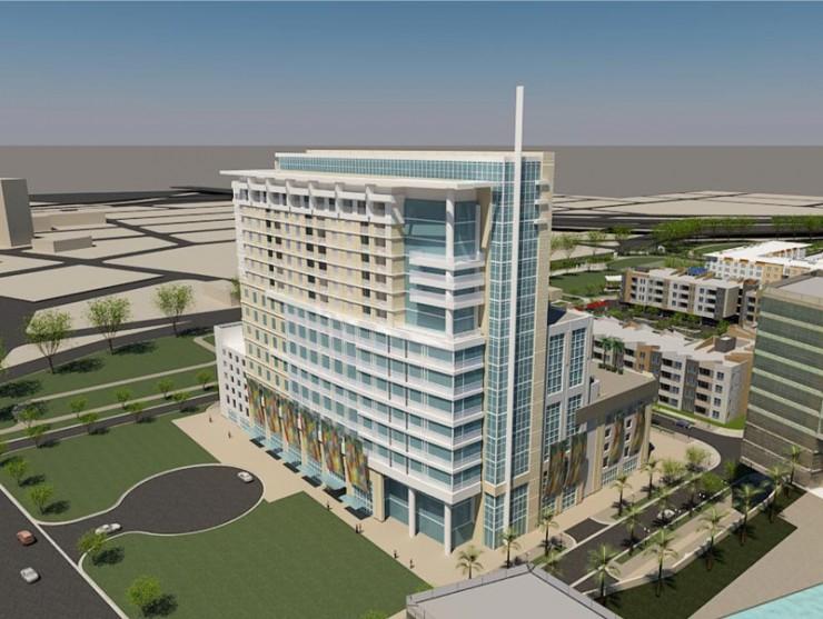 Encore Tower Tampa Rendering