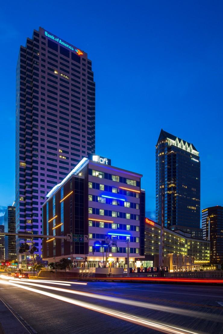 Aloft Tampa Downtown on Urban Planning Portfolio
