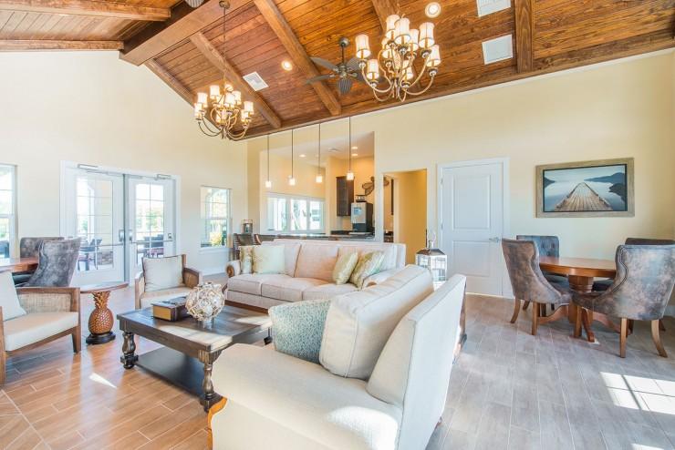 ParkCrest Landings Indoor Lounge
