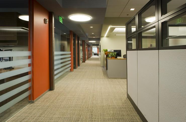 Hensel Phelps Hallway