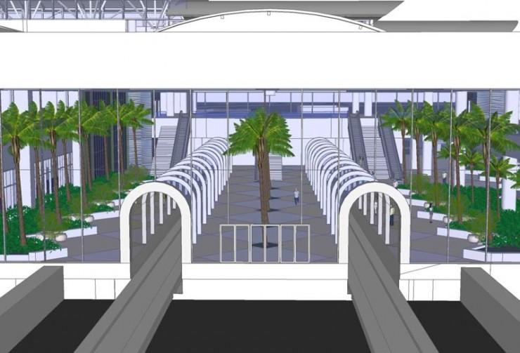 OIA Intermodal Site Interior Landscape