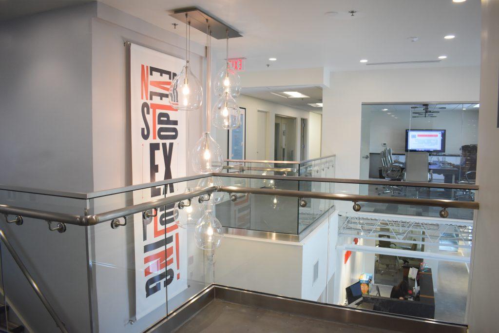 Interior office shot